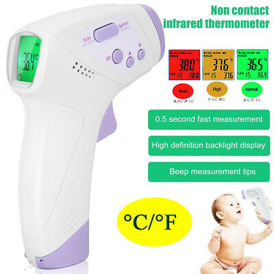 Medical Forehead and Ear Infrared Digital Thermometer for Baby, Kids & Adults CA