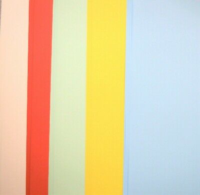 50 Sheets A4 Craft Card in Assorted Colours or Mixed 160gsm NEW