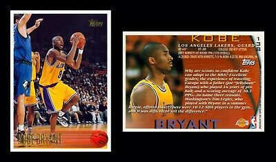 🔥 Kobe Bryant RC Rookie 1996-97 Topps # 138 Mint Fresh From Pack To Holder!🔥🔥