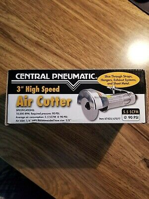 """Central Pneumatic 3"""" High Speed Air Saw / Cutter # 67425 / 47077 FREE SHIPPING"""