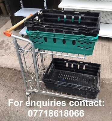 Supermarket Picking and Packing Trolley