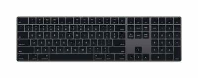 Apple Wireless Magic Keyboard with Numeric Keypad A1843 - Space Gray (MRMH2LL/A)
