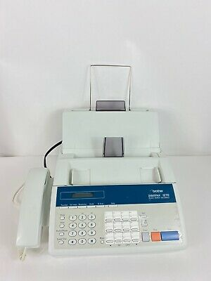 Brother IntelliFax Model 1270 Fax MachineFacsimile Transceiver