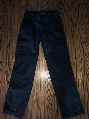511 Tactical Womens Navy Cargo Pants Size 8 Long