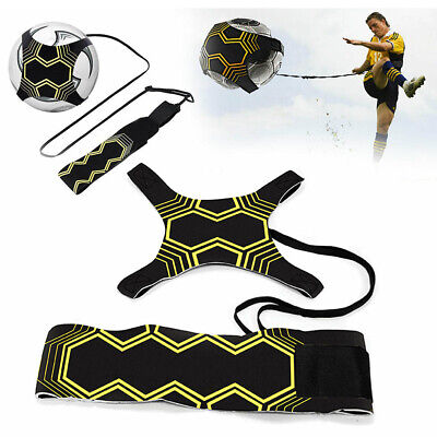 Football Soccer Kick Solo Trainer Soccer Training Aid Kids Adult Exercise Tool