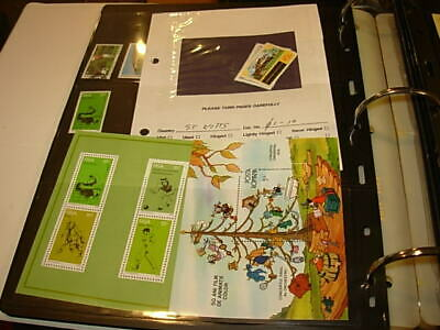Large Binder With A Variety Of Items-Many Mint Stamps!