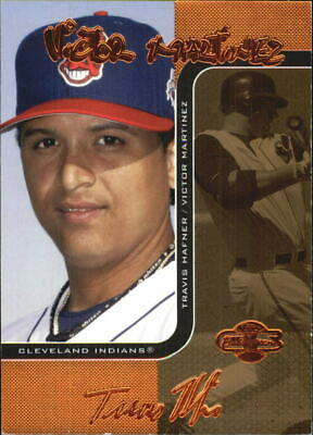 2006 Co-Signers Changing Faces Gold #57A Victor Martinez/T. Hafner/115 - NM-MT