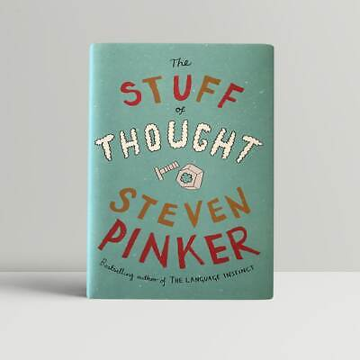 Steven Pinker – The Stuff of Thought – First UK Edition 2007 – SIGNED - 1st Book