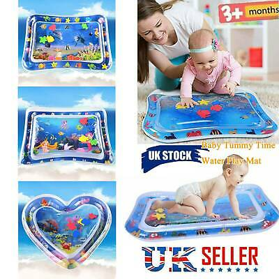 Tummy Time Baby Inflatable Water Play Mat Newborn Infant Toy 3-6-9 Month Toddler
