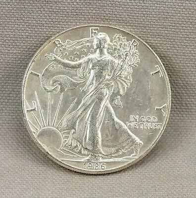 1986 One Ounce Silver American Eagle! No Reserve!
