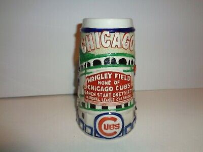 Chicago Cubs Wrigley Field Coopertown Collection Beer Stein