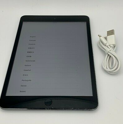 Apple iPad Mini 1st Generation 16GB Verizon Space Gray - READ DESCRIPTION AR305