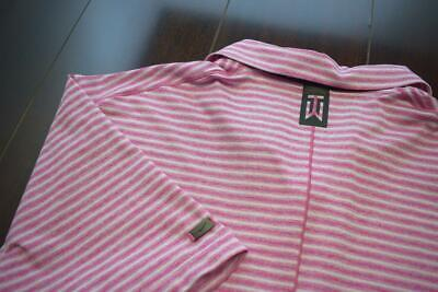 34153 Mens Nike Golf Tiger Woods Collection Striped Golf Polo Shirt Size Large