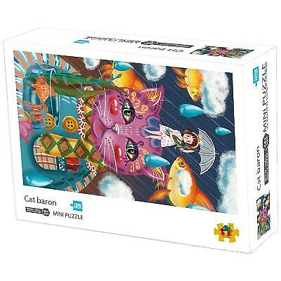 NEW Jigsaw Puzzle Cat Baron 1000 pcs Games Craft for Family Adults Kids Children