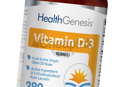 Vitamin D3 10000 IU 380 Softgels - High-Potency | Non-GMO | Soy-Free | in Ext...