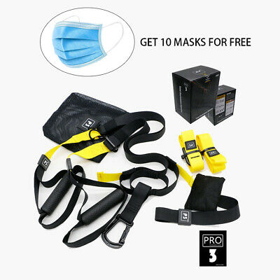 Resistance Trainers Fitness Straps Pro Kit Suspension Trainer Home Gym