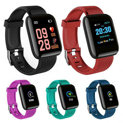 Fitness Smart Watch Band FIT-BIT Sport Activity Tracker For Kids Android iOS New
