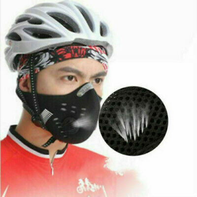 New Motorcycle Bicycle Cycling Anti-Pollution Half Face Shield Filter Dust