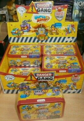 SuperZings Rivals of Kaboom Series 4 Danger Gang Collector tin inc. 5 exclusive