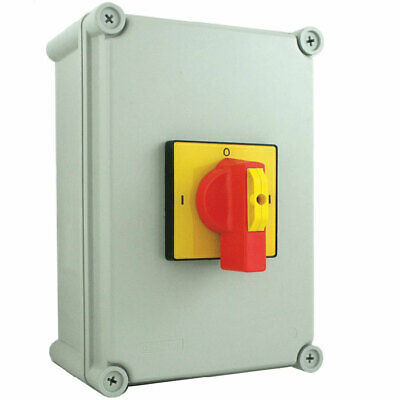 32A 4 Pole IP65 Plastic Generator Changeover Switch