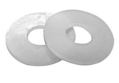 #4 x 1/4 x .032 Flat Washer Nylon