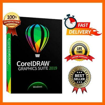 CorelDraw Graphics Suite 2019 🔑LIFETIME 🔑🔥Fast Email Delivery🔥