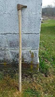 Vintage Garden Hoe Rustic Farmhouse Barn Decor