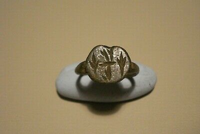 Genuine Ancient Uncleaned Roman Ring--Detector Finds