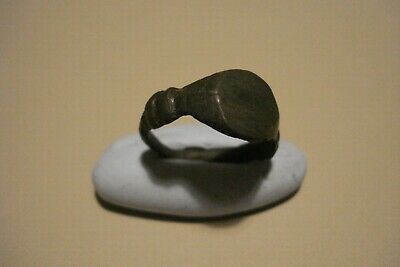 Genuine Ancient Uncleaned Roman Ring--Detector Find