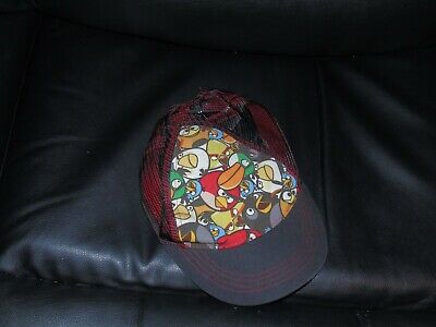 Boys Angry Birds cap 7-10 years with mesh back and sides