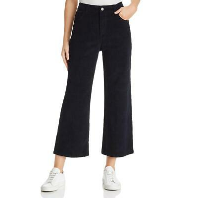 DL1961 Womens Hepburn  Black High-Rise Wide-Leg Daytime Pants 26 BHFO 0698