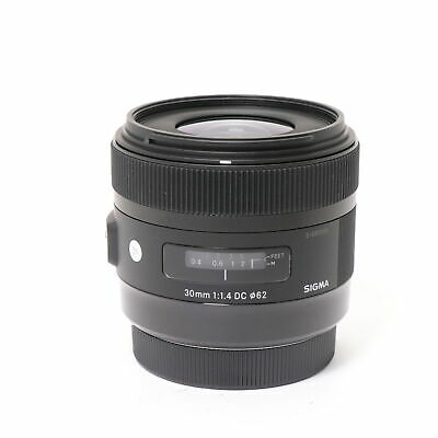 SIGMA  A 30mm F1.4 DC HSM (for Canon EF-S mount) #240
