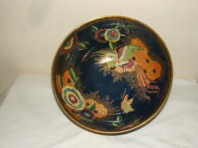 Carlton Ware Art Deco Chinese Bird In Cloud Fruit Bowl Stunning & What A Find