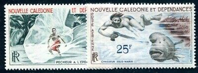 NOUVELLE CALEDONIE 1962 377,381 ** POSTFRISCH Yvert PA 67,69 TADELLOS (09738