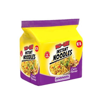 Ko-Lee Packet Noodles Curry Flavour 5PK