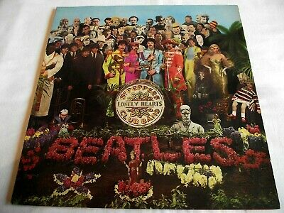 THE BEATLES ~ SGT. PEPPERS ** 70's STEREO UK PARLOPHONE LP w/ INSERT