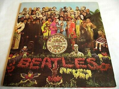 THE BEATLES ~ SGT. PEPPERS ** 1967 UK 1st PARLOPHONE LP w/ INSERT