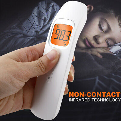 Non Contact Digital Forehead Thermometer IR Infrared Adult Body Temperature Gun