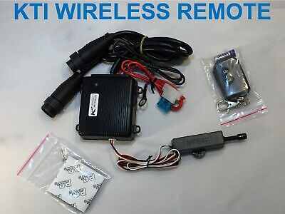 Double Acting KTI Hydraulics Dump Trailer Wireless Remote Control Kit +15' Ext.