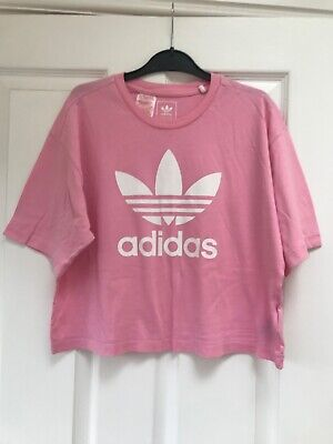 Adidas Girls Pink Tshirt, age 13-14 years, brand new without tags