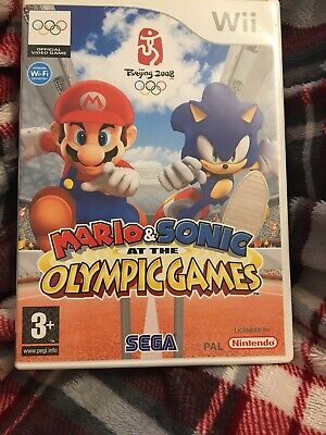 NINTENDO Wii  . Wii u  .Mario & Sonic At The Olympic Games. .  complete