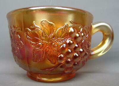 Dugan MANY FRUITS Marigold Carnival Glass Punch Cup 524