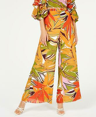ROYALTY/JBS LIMITED 2398 Size XS Womens NEW Multi Leaf Wide Leg Pants Woven $79