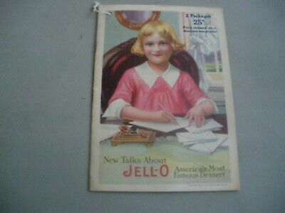 jello booklet circa 1918