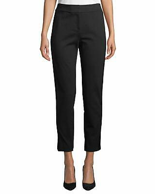 Calvin Klein Women's Black Size 4 Faux Suede Slim Dress Pants Stretch $89 #287