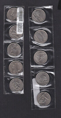 USA, 11, 2005 state series quarter dollar coins