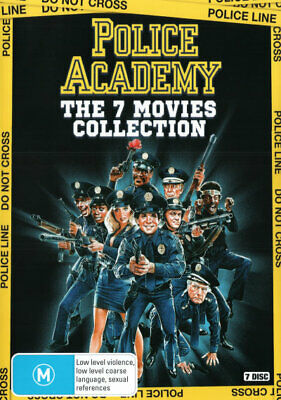 Police Academy: The 7 Movies Collection (1984) [New Dvd]