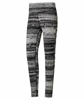 Reebok Os Lux Tight Stratified S Mallas, Mujer (M|negro)