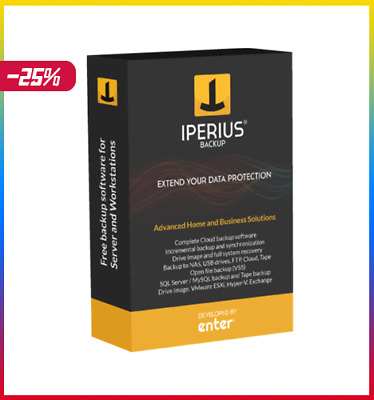 Iperius Backup Full 7.0.3 (LATEST) Lifetime authentic Licence