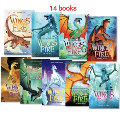 [E-edition] Wings of Fire 1-14 Books Set By Tui T. Sutherland P.D.F